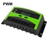 Novo design 30A 12V 24V Auto PV Controlador de carga solar LCD Porta USB