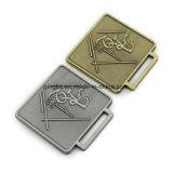 Médailles en alliage de zinc faites sur commande d'or et en métal de placage argenté avec le logo