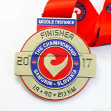 2017 عالة فضة معدن [3د] عمليّة ركوب رياضة وسام مع وشاح