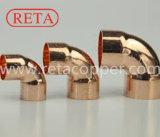 90 de Montage van het Koper van de Elleboog van de graad voor R410 a