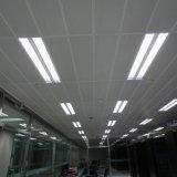 Aluminio del metal de la alta calidad Clip-en techo falso con el sistema suspendido