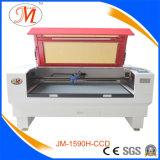 Máquina profissional de corte a laser para processo de cartão de felicitação (JM-1590H-CCD)