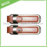 Top Quality Promotional Gift Cheap USB Flash Drive with Leather Case