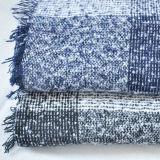 Scialle acrilico del cachemire 100% dell'assegno tessuto Black&White (HWBA078)