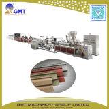 Chaîne de production de dégrossissage d'extrusion de revêtement de mur extérieur de vinyle en plastique de PVC
