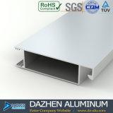 Profil en aluminium personnalisé par 6063 pour la porte de guichet