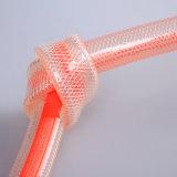 Mangueira de nylon reforçada trançada PVC Ks-3846nlg 45yards da fibra