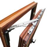Profilo di alluminio di granulazione di legno per il disegno europeo della finestra di alluminio