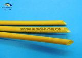 luva revestida da fibra de vidro do silicone 1.2kv trançado para o dispositivo elétrico Home