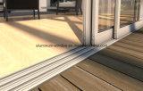 Charnières en aluminium de modèle de l'Europe belles pliant les portes coulissantes