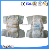 Pamper o tecido descartável do bebê com a faixa do elástico do Hug