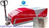 Máquina para las casas del panel huecos prefabricadas producto de pared de la losa de la base