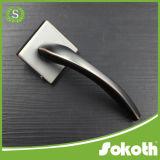 Traitement de porte de zinc de couleur de corps rond pour la porte en bois