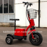 Ce Certificated 3 Wheels Electrical Zappy Mobility Sightseeing Vehicle 500W