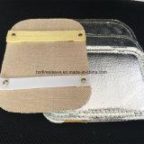 Aluminisierte Fiberglas-Kohlenstoff-Kevlar-Schweißhandschuh-Rückseiten-Handauflage