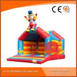 A alegria Deign a casa encantadora inflável do salto do palhaço (T1-001)