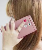 Ring Kickstand Plating Teléfono Funda para Huawei Mate 8