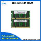 가득 차있는 호환성 128mbx8 Ett 칩 DDR2 SODIMM 2GB 렘