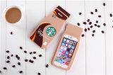 Caja del teléfono del silicón de Starbucks del café para el borde S7 Huawei P8 P9 (XSF-010) de Samsung S6