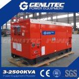 Leiser Typ Diesel-Generator des einphasig-16kVA Kubota