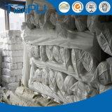 Tela blanca 100% del colchón del hilado del poliester