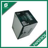 Caja de cartón acanalado modificada para requisitos particulares de la máquina