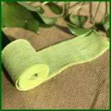 Rullo colorato del panno della tela da imballaggio della iuta (verde)