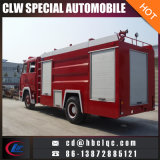4X2 HOWO 7000L 10000L 화재 구조 차량 소방차 차량