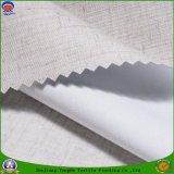 Tela tejida apagón impermeable casero de la cortina de ventana del poliester del franco de la materia textil
