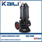 Pompes submersibles électriques non-obstruées de 2 pouces WQ Pompes submersibles électriques d'eaux usées