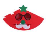 クリスマスの帽子およびストッキングの装飾