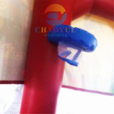 Casa inflável do salto, castelo de salto Bouncy inflável para miúdos