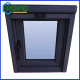 Casement preto vitrificado dobro Windows dos padrões UPVC de Awa Austrália
