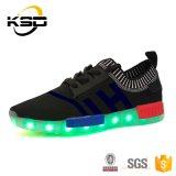 2016 Veelkleurige Lichtgevende LEIDENE van de Hoofd stof Lichte van Volwassenen Schoenen voor de Vrouwen van Mannen