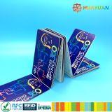 Bilhetes do papel do transporte da impressão 13.56MHz ISO14443A Infineon SLE66R01L RFID de Personlization