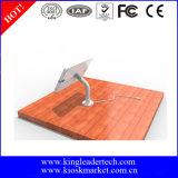 Verschließbarer TischplatteniPad Standplatz mit drehbarem Gans-Stutzen-Halter