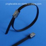 Sujetadores pila de discos el tipo del bloqueo de la bola del fabricante de las ataduras de cables del acero inoxidable de la tira