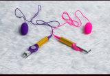 USB que carga el juguete doble del sexo del amor del Masturbation de los huevos para las señoras