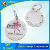 Изготовление бирки собаки имени гравировки Enael поставкы/лазера/Pet/ID (XF-DT16)