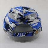 Почищенная щеткой высоким качеством красная бейсбольная кепка хлопка Camo голубого серого цвета цветастая