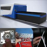 machine de découpage de laser de fibre de l'acier inoxydable 2kw de 8mm GS-Lfds3015
