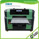 Impressora UV do diodo emissor de luz de Wer E2000UV do tamanho A3 pequeno para a tampa móvel, o TPU e a impressão de couro