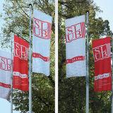 Il doppio di vendita caldo del bordo della strada della via ha parteggiato bandiera per la mostra