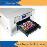 Impressora de cor cheia UV do diodo emissor de luz A3 para o cartão do USB da esfera de golfe da pena