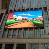 SMD P10 LED a todo color al aire libre que hace publicidad del módulo video de la cartelera de la pared de la pantalla de visualización