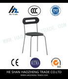 Los nuevos pies plásticos del laminado de la parte posterior de la silla