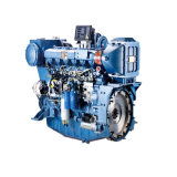 Motor diesel marina chino con la caja de engranajes