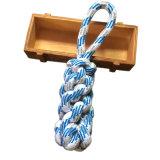 Het stevige Stuk speelgoed van de Kabel van de Hond voor het Agressieve Chewers en Spelen