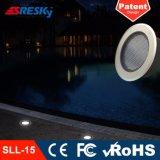 Éclairage LED souterrain solaire d'IP 68