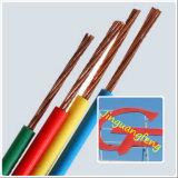 A BV 450/750 V, PVC isolou o fio elétrico de cobre
